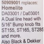 54. Mini damilfej